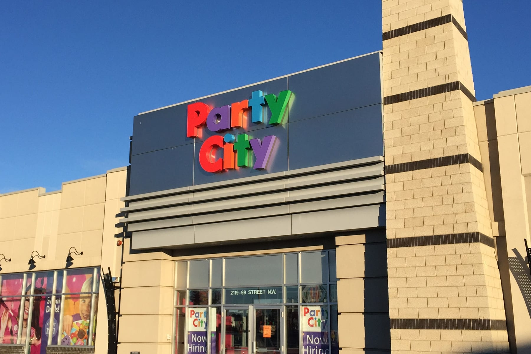 Party City Edmonton Hours