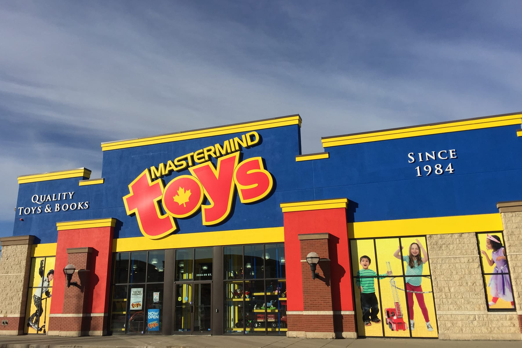 All mentioned Toys & babies, Mastermind Toys Grande Prairie stores listing has a contacts, phone number, location and opening and closing times. Click the name below to get Mastermind Toys Grande Prairie opening hours and for detailed information.
