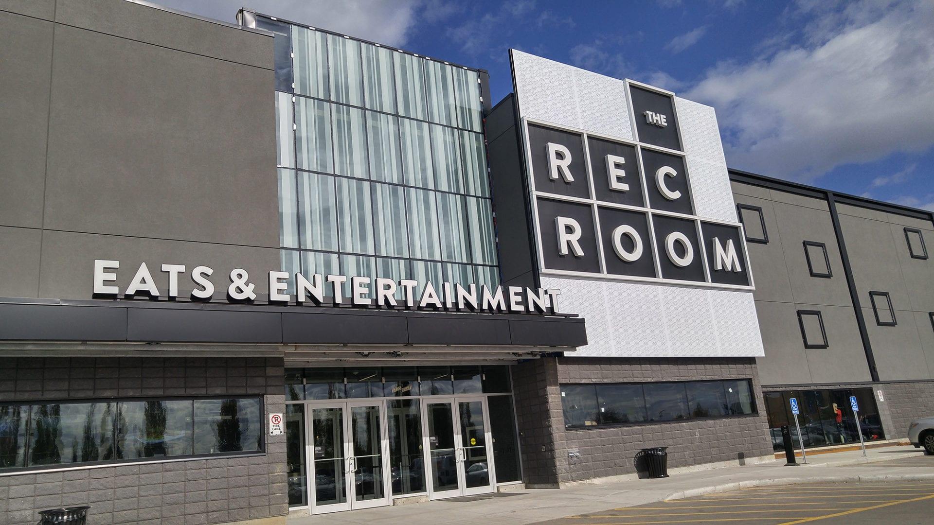 The Rec Room Now Open South Edmonton Common