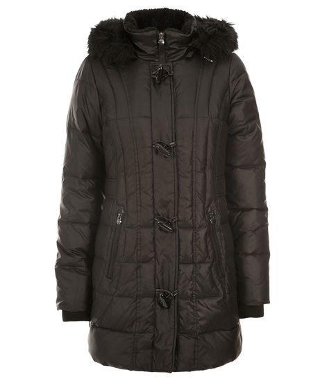 toggle puffer coat