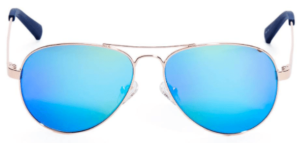 Illiana Mirrored Aviator sunglasses