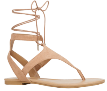LOUSADA Lace Up Sandal