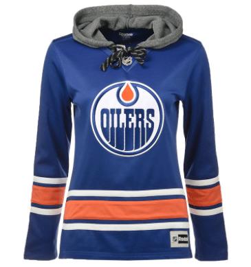 Edmonton Oilers Reebok NHL Women's Jersey Crewdie
