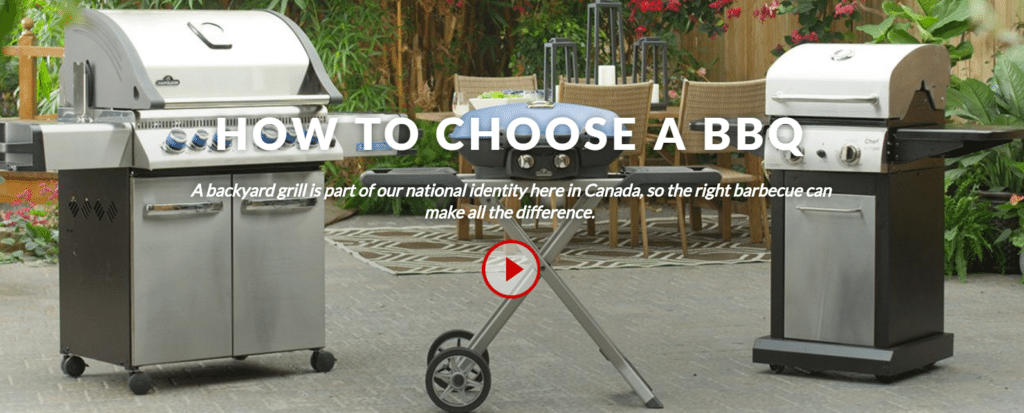 canadian tire - how to choose the right bbq for you