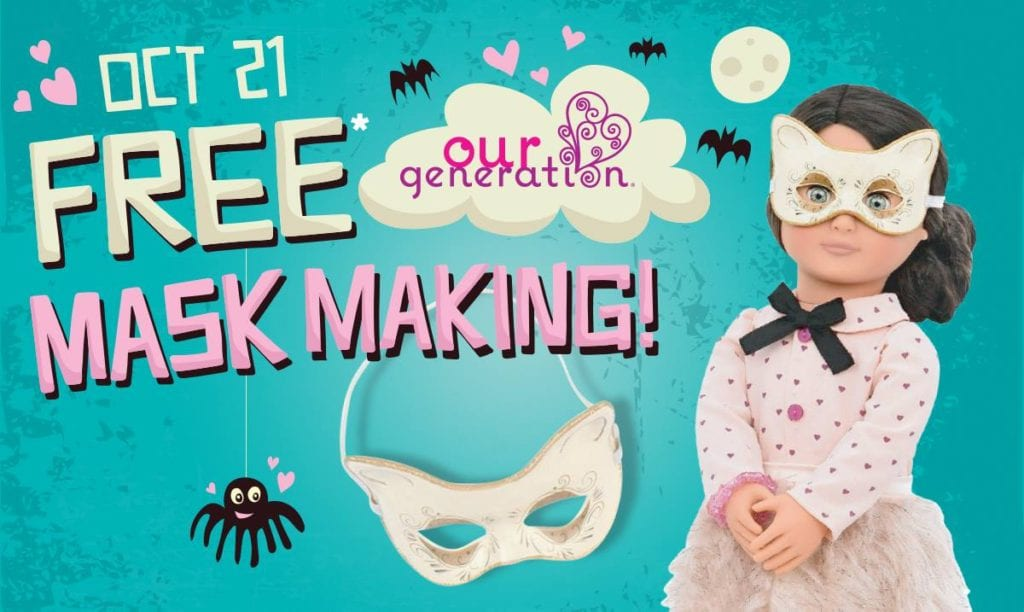 mask making at mastermind toys