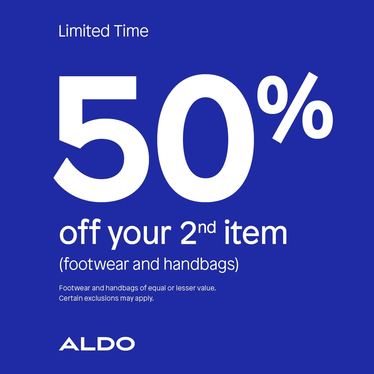 0f4662ca6 Get 50% Off Your 2nd Item